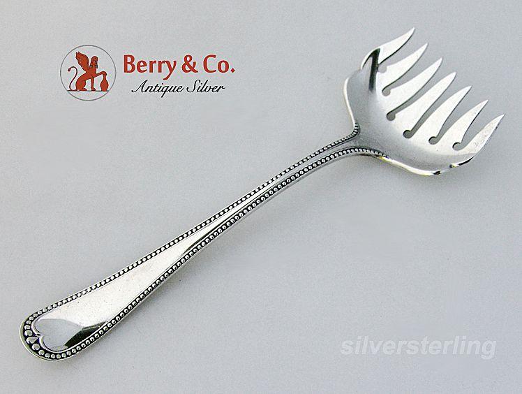 Newcastle Sardine Fork Gorham Sterling Silver 1895