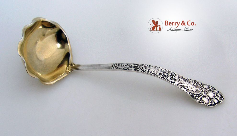 Old Medici Sterling Silver Gravy Ladle 1880