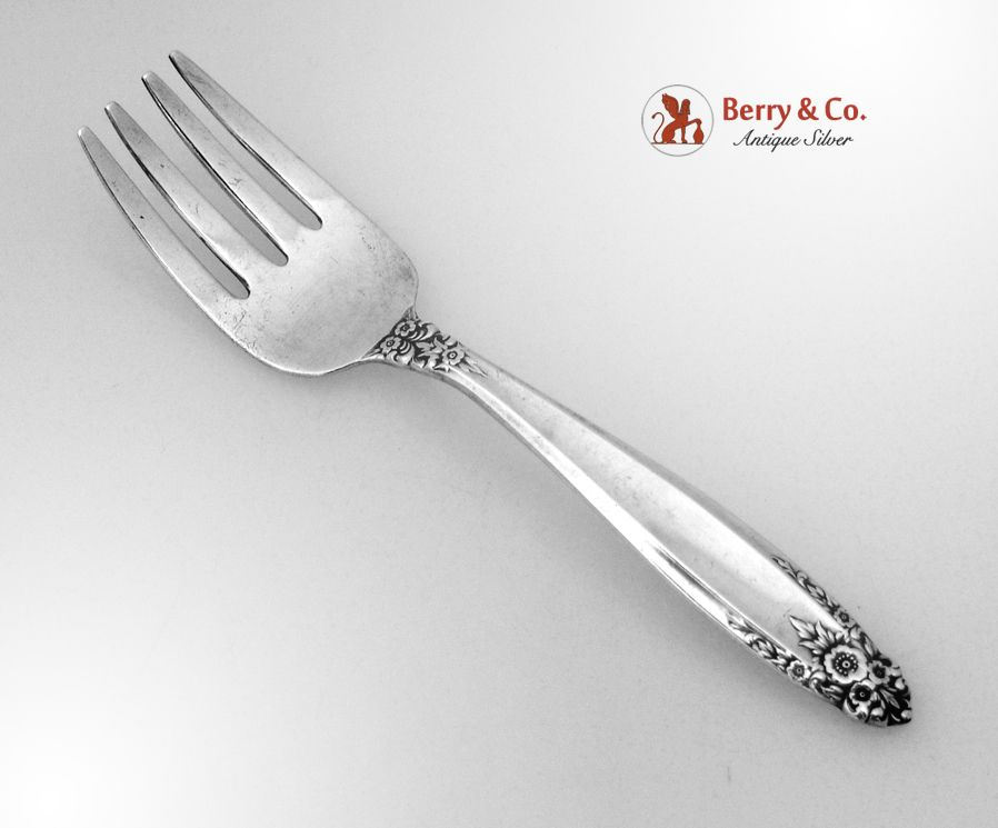 Prelude Baby Fork Sterling Silver International