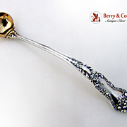 Mustard Ladle Blackinton Art Nouveau Sterling Silver