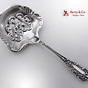 Bon Bon Candy or Nut Spoon Sterling Silver Knowles 1900s