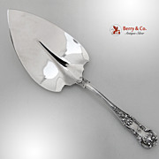 New Queens Pie Server Sterling Silver Gorham 1899