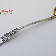 Alhambra Mustard Ladle Sterling Silver Whiting 1880