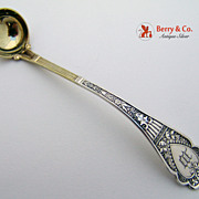 Murillo Mustard Ladle Sterling Silver Wood and Hughes 1875