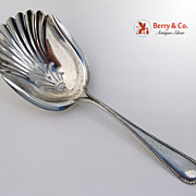 Watson Plymouth Almond Scoop Sterling Silver 1905