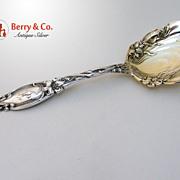 Frontenac Berry Spoon International Sterling Silver 1903 Monogram H