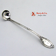Mustard Ladle Diana Wendt Sterling Silver 1865