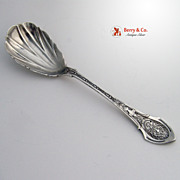 Angelo Sugar Spoon Wood and Hughes Sterling Silver 1878