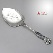 Kings Pie Server Sterling Silver 1920