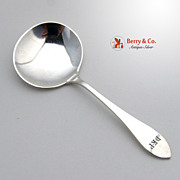 Arts and Crafts Candy Spoon Sterling Silver George Blanchard