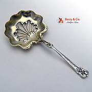 New Grape Bon Bon Spoon Whiting Sterling Silver 1895