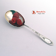 Adam Berry Spoon Whiting 1907 Sterling Silver Monogram ACJ