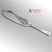 Colonial Trout Knife Gorham 1885 Sterling Silver No Monogram
