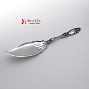Cloeta Jelly Cake server International Sterling Silver 1904