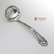 Old Medici Gravy Ladle Gorham Sterling Silver 1880
