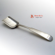 Arts and Crafts Sugar Shovel Erickson Sterling Silver