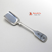 Sugar Shovel Hand Made George Erickson Sterling Silver 1935