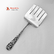 Asparagus Server Baltimore Rose Schofield 1905 Sterling Silver No Monogram