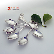 No. 43 8 Teaspoons Sterling Silver Towle 1882