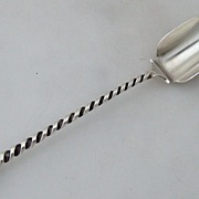 Cheese Scoop Ball Twist Dominick and Haff  Sterling Silver 1885