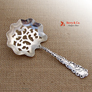 Waverly Bon Bon Candy Spoon Wallace Sterling Silver 1890