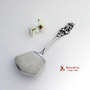 Harlequin Tea Rose Bon Bon Spoon  Sterling Silver Reed and Barton  1958