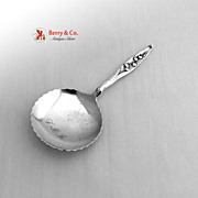 Lily of The Valley Confection Spoon Sterling Silver Whiting 1885