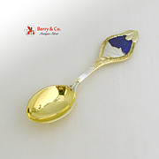Christmas Spoon 1913 Michelsen Sterling Silver