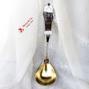 Antique Coin Silver Soup Ladle Duhme & Co Pattern Number One
