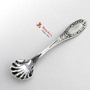 Jenny Lind Master Salt Spoon Coin Silver Albert Coles 1850