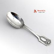 Adam Baby Spoon Shreve San Francisco 1904 Sterling Silver