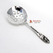 Plymouth Souvenir Candy Spoon Bates Klinke Sterling Silver 1940