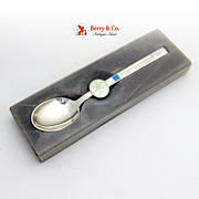 Zodiac Spoon of the Month Sterling Silver Michelsen January