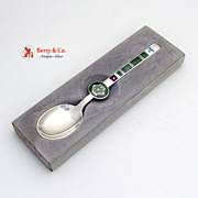 Zodiac Spoon of the Month Sterling Silver Michelsen February