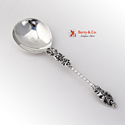 Antique Apostle Spoon Sterling Silver Serving Spoon Sheffield 1895