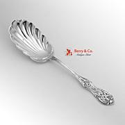 Primrose Serving Spoon Sterling Silver International 1936