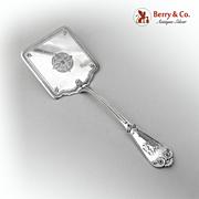 Beekman Waffle Server Sterling Silver Tiffany 1869