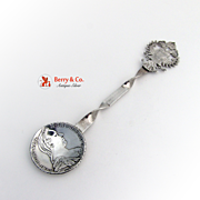 Coin Spoon Austrian Maria Theresa Thaler