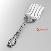 Regent Asparagus Server Durgin 1901 Sterling Silver