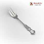 Alhambra Pickle Fork Whiting Sterling Silver 1880