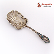 Bon Bon Spoon Leopard Sterling Silver French and Franklin