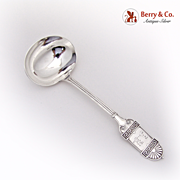 Grecian Gravy Ladle Sterling Silver Wendt