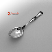 Buttercup Sterling Silver Sugar Spoon Gorham 1899