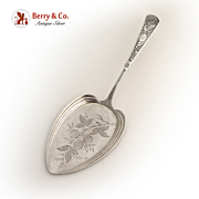 Saint George Pie Server 1890 Sterling Silver Wallace