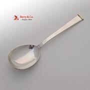 Gold Tip Sugar Spoon 18K Gold Gorham Sterling Silver