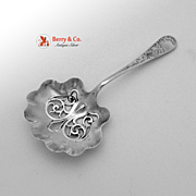 Lily Engraved Bon Bon Candy Spoon Sterling Silver Whiting