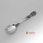 Francis I Ice Cream Fork Reed and Barton Sterling Silver