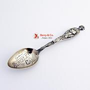 Berkley Graduation Souvenir Spoon Watson Sterling Silver