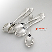 Marquise Place Soup Spoons Tiffany 1902 Sterling Silver