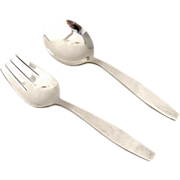 Baby Set Spoon Fork Towle Sterling Silver